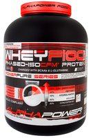 ALPHAPOWER FOOD: WheyF100 Phased-ISOCFM Protein 2.000 g can