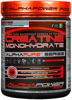 ALPHAPOWER FOOD: 100% Pure Creatine Monohydrate 1000 g can