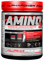 ALPHAPOWER FOOD: Amino 100% Massive 1000 tabs can