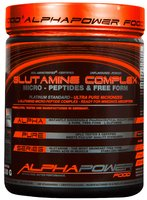 ALPHAPOWER FOOD: GLUTAMINE PEPTIDE COMPLEX 300 g can powder unflavored