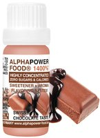 ALPHAPOWER FOOD: SWEETENER + AROMA 1400% LIQUID 10 ML