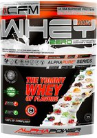 ALPHAPOWER FOOD: CFM 100% Whey Protein TRIPLE CFM WHEY COMPLEX 1000 g pouch
