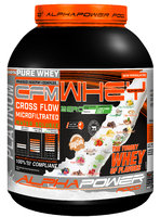 ALPHAPOWER FOOD: CFM 100% Whey Protein TRIPLE CFM WHEY COMPLEX 2.000 g can Bourbon Vanilla Bean