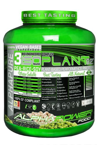 ALPHAPOWER FOOD: PLANT BASED PROTEIN 2.000 g can Schoko